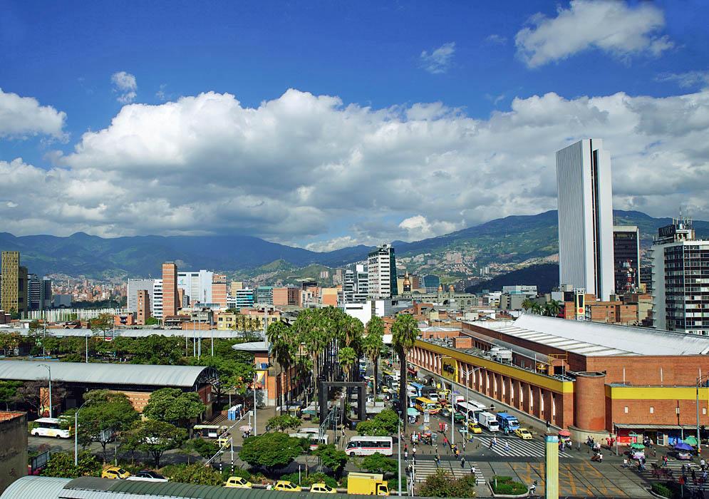 A sunny day in Medellin